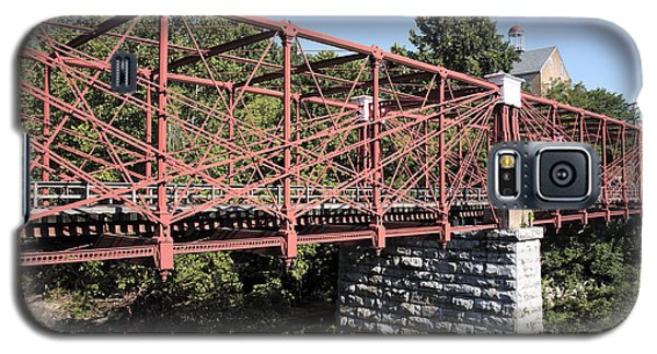 Bollman Truss Bridge At Savage In Maryland Galaxy S5 Case