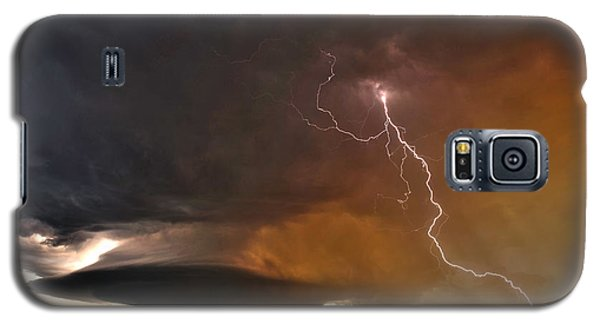 Galaxy S5 Case featuring the photograph Bolt From The Heavens. by James Menzies