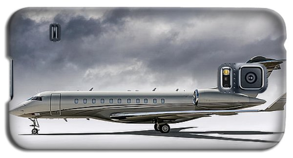 Bombardier Global 5000 Galaxy S5 Case by Douglas Pittman