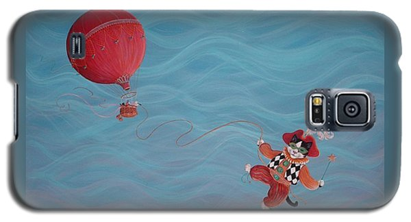 Galaxy S5 Case featuring the painting Bon Voyage by Dee Davis