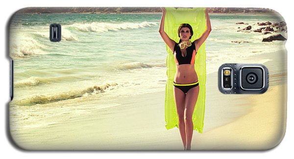 Bond Girl Laguna Beach Galaxy S5 Case