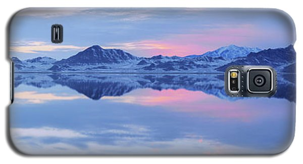 Galaxy S5 Case featuring the photograph Bonneville Lake by Chad Dutson