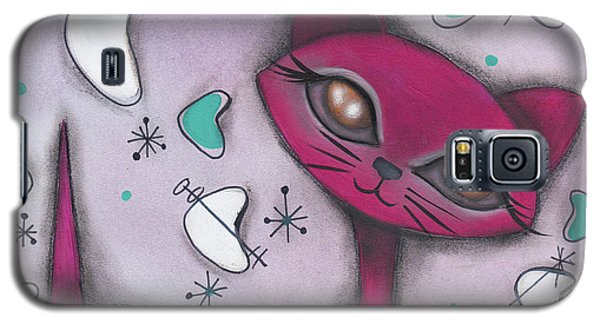 Bonnie Cat Galaxy S5 Case by Abril Andrade Griffith