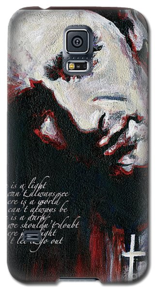 Bono - Man Behind The Songs Of Innocence Galaxy S5 Case