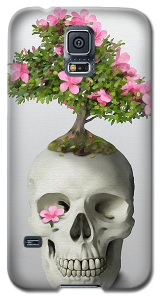 Bonsai Skull Galaxy S5 Case