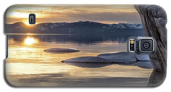 Bonsai Sunset Galaxy S5 Case