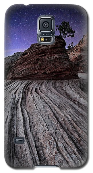Bonzai In The Night Utah Adventure Landscape Photography By Kaylyn Franks Galaxy S5 Case