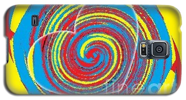 Galaxy S5 Case featuring the painting Boo Hearted by Catherine Lott