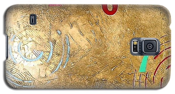 Galaxy S5 Case featuring the painting Boogie 7 by Bernard Goodman