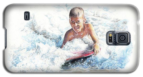Boogie Boarding Galaxy S5 Case