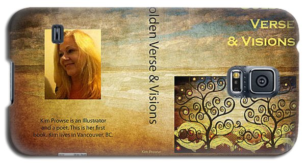 Galaxy S5 Case featuring the digital art My Book Jacket by Kim Prowse