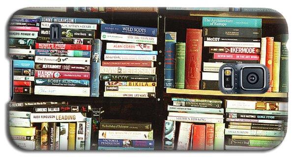 Book Shop Galaxy S5 Case by Rebecca Harman