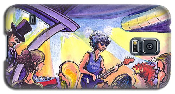 Galaxy S5 Case featuring the painting Boombox At The Barkley by David Sockrider