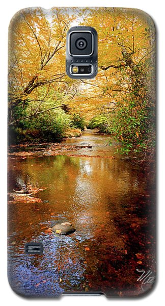 Galaxy S5 Case featuring the photograph Boone Fork Stream by Meta Gatschenberger