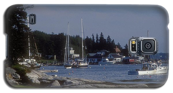 Boothbay Harbor In Maine Galaxy S5 Case by Darleen Stry