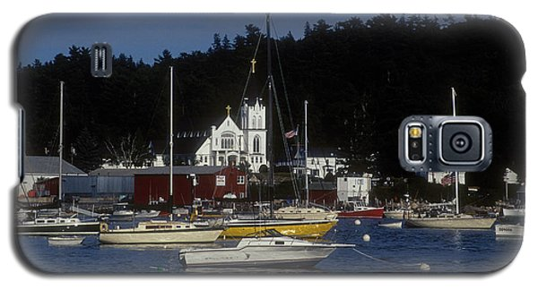 Boothbay Harbor Maine 2 Galaxy S5 Case