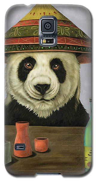 Galaxy S5 Case featuring the painting Boozer 4 by Leah Saulnier The Painting Maniac