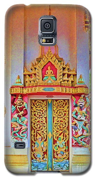 Bophut Temple In Thailand Galaxy S5 Case