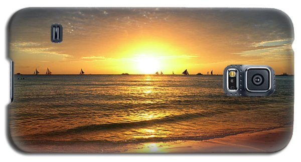 boracay,Philippians 4 Galaxy S5 Case by Mark Ashkenazi