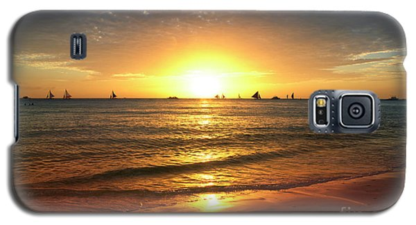 Venice Beach Galaxy S5 Case - boracay,Philippians 4 by Mark Ashkenazi