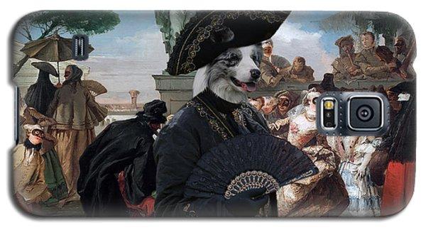 Border Collie Art Canvas Print - The Minuet Galaxy S5 Case