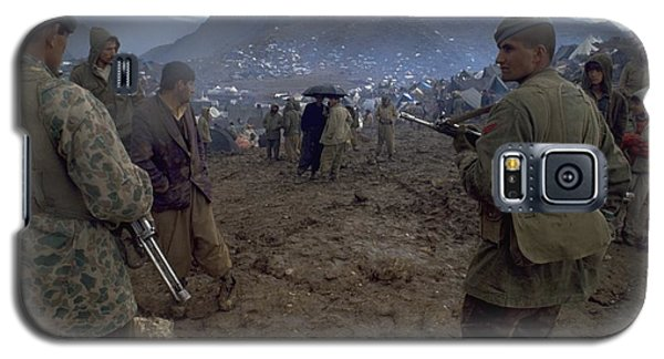 Border Control Galaxy S5 Case
