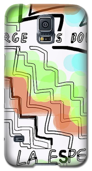 Borges The Wait Short Story  Galaxy S5 Case