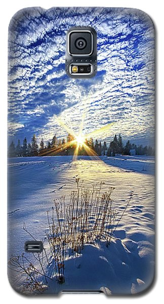 Galaxy S5 Case featuring the photograph Born As We Are by Phil Koch
