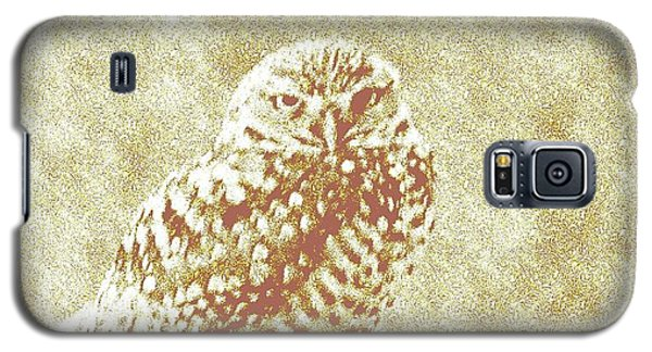 Galaxy S5 Case featuring the photograph Borrowing Owl by Timothy Lowry