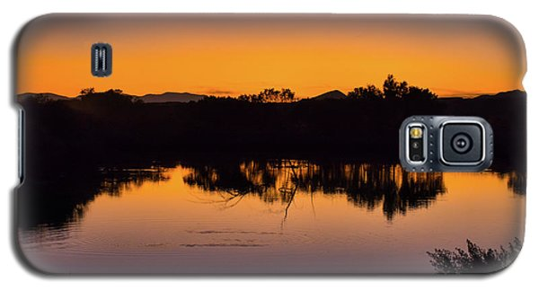 Bosque Del Apache Sunset Galaxy S5 Case