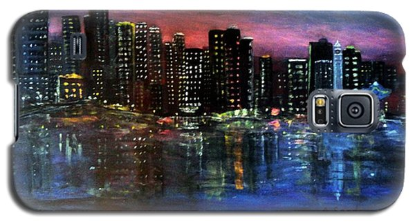 Boston At Night Galaxy S5 Case