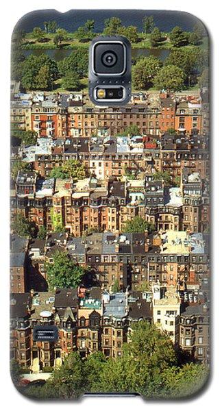 Boston Brownstone Architecture Galaxy S5 Case