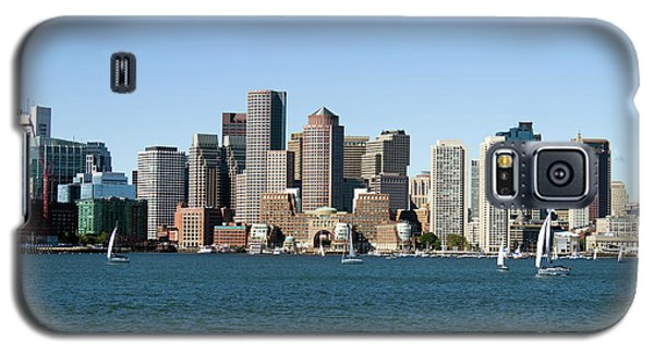 Boston City Skyline Galaxy S5 Case