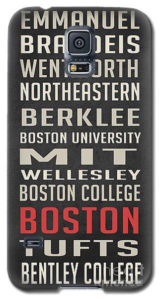 Boston Collegetown Galaxy S5 Case by Edward Fielding