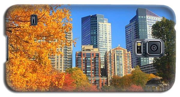 Boston Common In Autumn Galaxy S5 Case