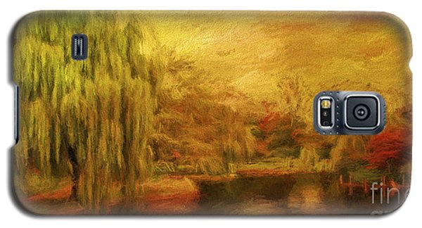 Boston Common In Autumn Galaxy S5 Case