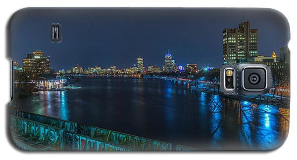 Boston From The Boston University Bridge Galaxy S5 Case
