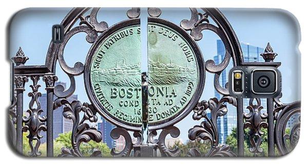 Boston Garden Gate Detail Galaxy S5 Case