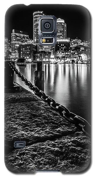 Boston Harbor At Night Galaxy S5 Case