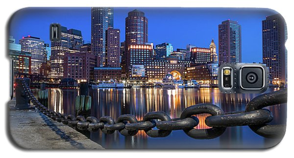 Boston Harbor Blue Galaxy S5 Case