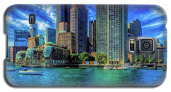 Boston Harbor Reflected Galaxy S5 Case