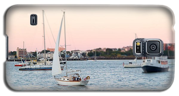 Boston Harbor View Galaxy S5 Case