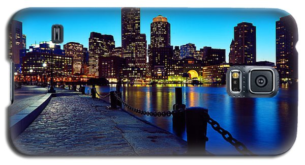 Boston Harbor Walk Galaxy S5 Case