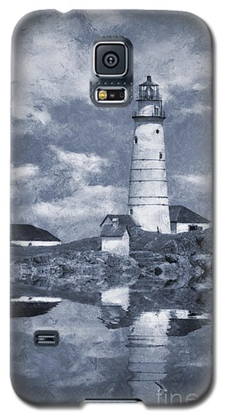 Galaxy S5 Case featuring the photograph Boston Light  by Ian Mitchell