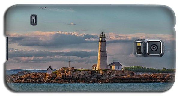 Boston Lighthouse Sunset Galaxy S5 Case