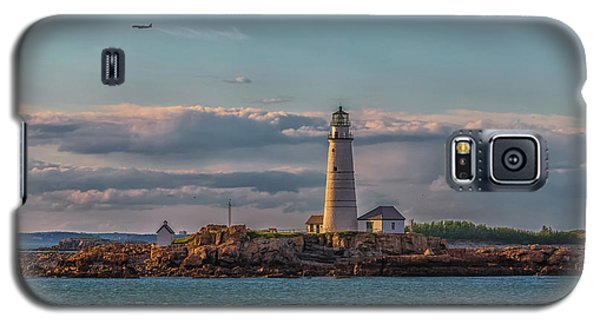 Boston Lighthouse Sunset Galaxy S5 Case