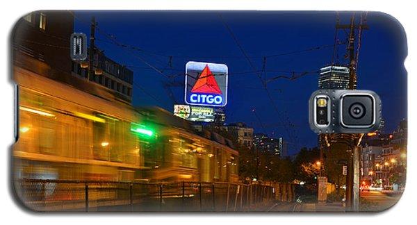 Boston Ma Green Line Train On The Move Galaxy S5 Case