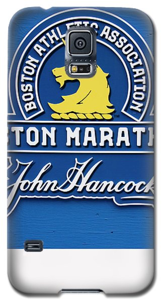 Galaxy S5 Case featuring the photograph Boston Marathon - Boston Athletic Association by Joann Vitali