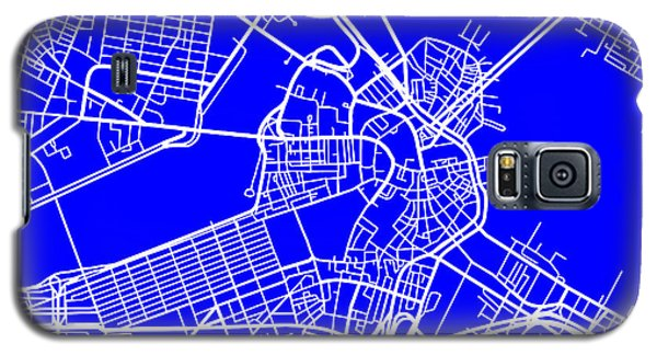 Boston Massachusetts City Map Streets Art Print   Galaxy S5 Case by Keith Webber Jr