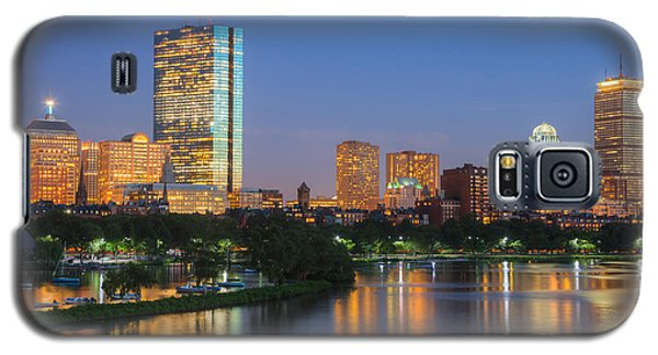 Boston Night Skyline II Galaxy S5 Case